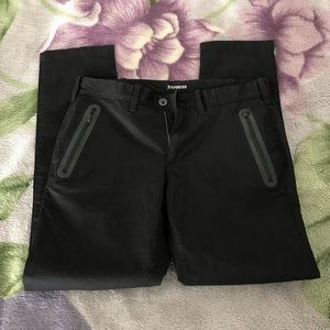 Black chinos from Express